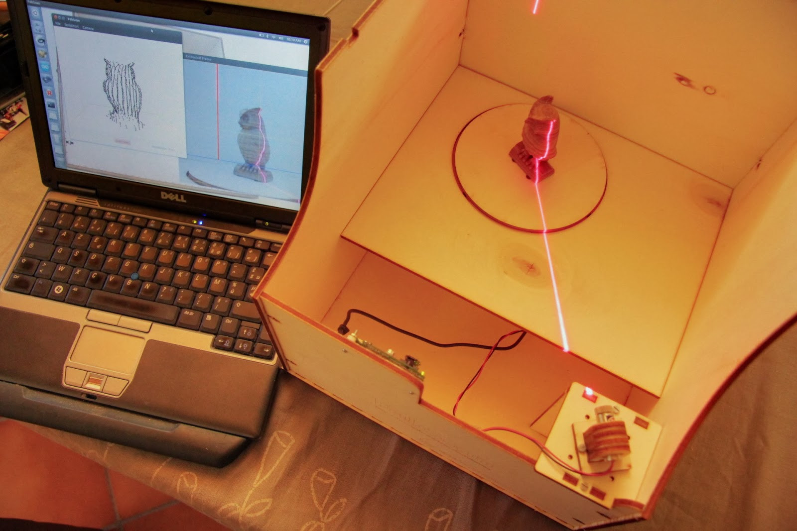 Diy 3D Scanner  3D printer improvements Fixes and howto for the DIY