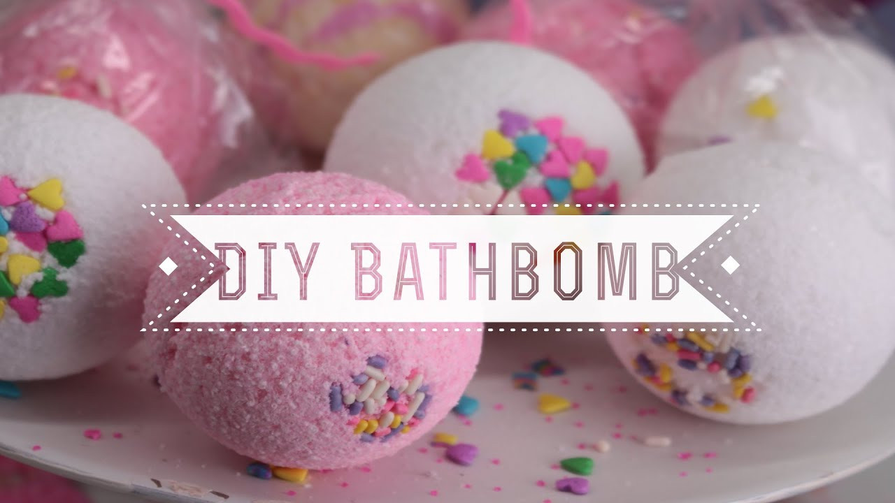 Diy Bath Bombs  DIY Sprinkles Bath Bombs Vanilla Cupcake Scented