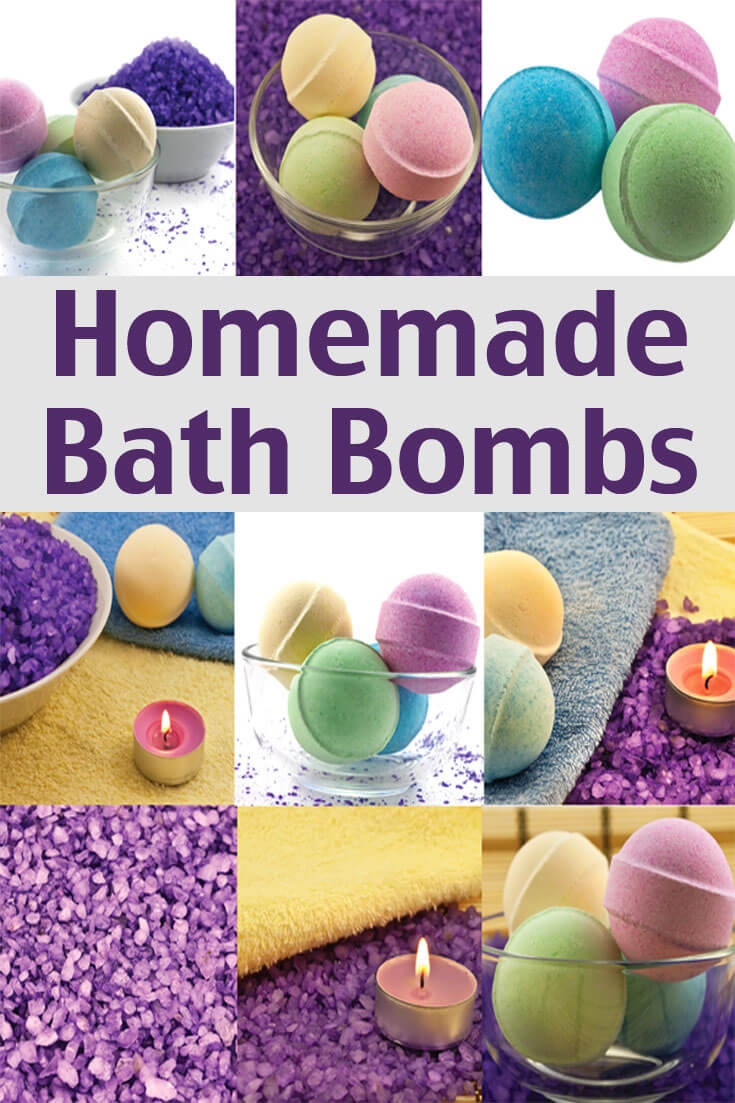 Diy Bath Bombs  Homemade Bath Bombs Recipe Living on a Dime