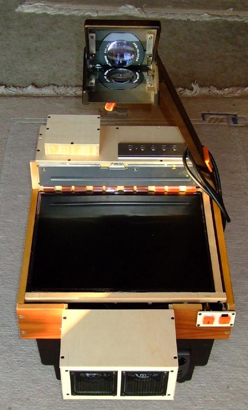 Diy Beamer  Verkaufe fast fertigen DIY OHP Beamer A K TopLux 400