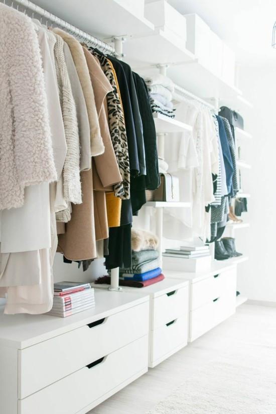 Diy Begehbarer Kleiderschrank  DIY Begehbaren Kleiderschrank selber bauen praktishe Tipps