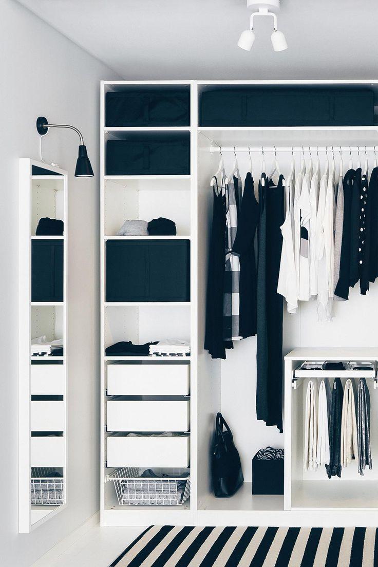 Diy Begehbarer Kleiderschrank  Die besten 25 Pax kleiderschrank Ideen auf Pinterest