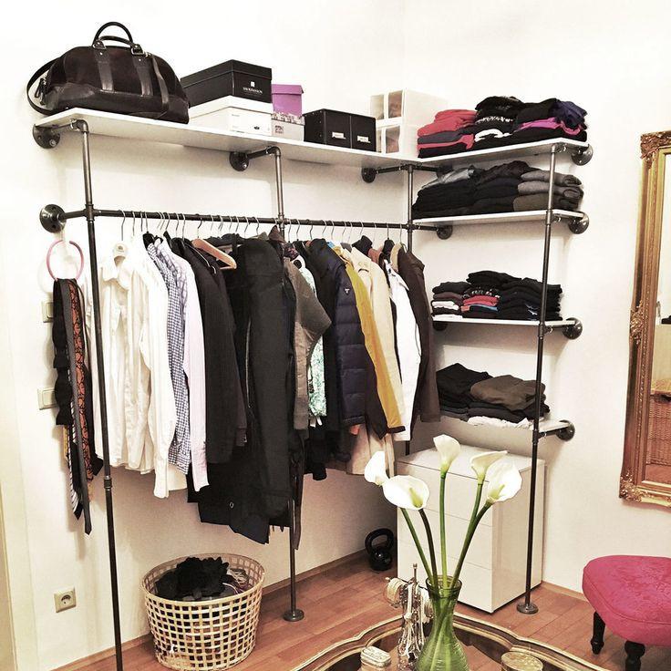 Diy Begehbarer Kleiderschrank  Best 25 Selber bauen begehbarer kleiderschrank ideas on