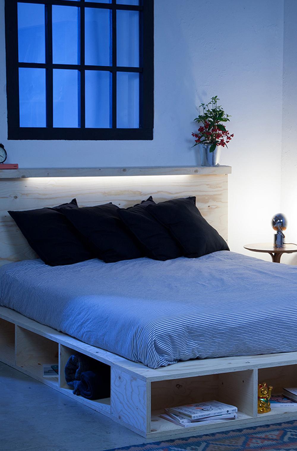 Diy Betten  Bett Diy Wohndesign Interieurideen