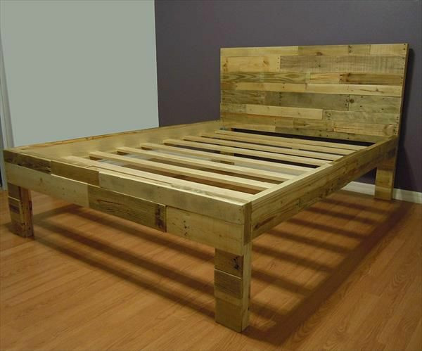 Diy Betten  DIY Betten aus Holzpaletten
