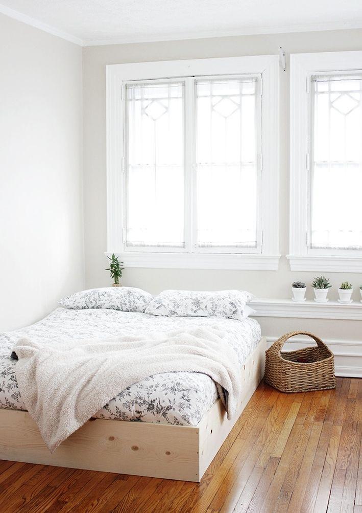 Diy Betten  bett selber bauen anleitung schlafzimmer einrichten