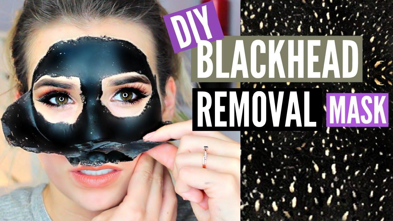 Diy Blackhead Maske  DIY Blackhead Removing PEEL OFF Mask EASY WORKS
