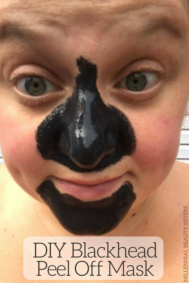 Diy Blackhead Maske  DIY Blackhead Peel f Mask