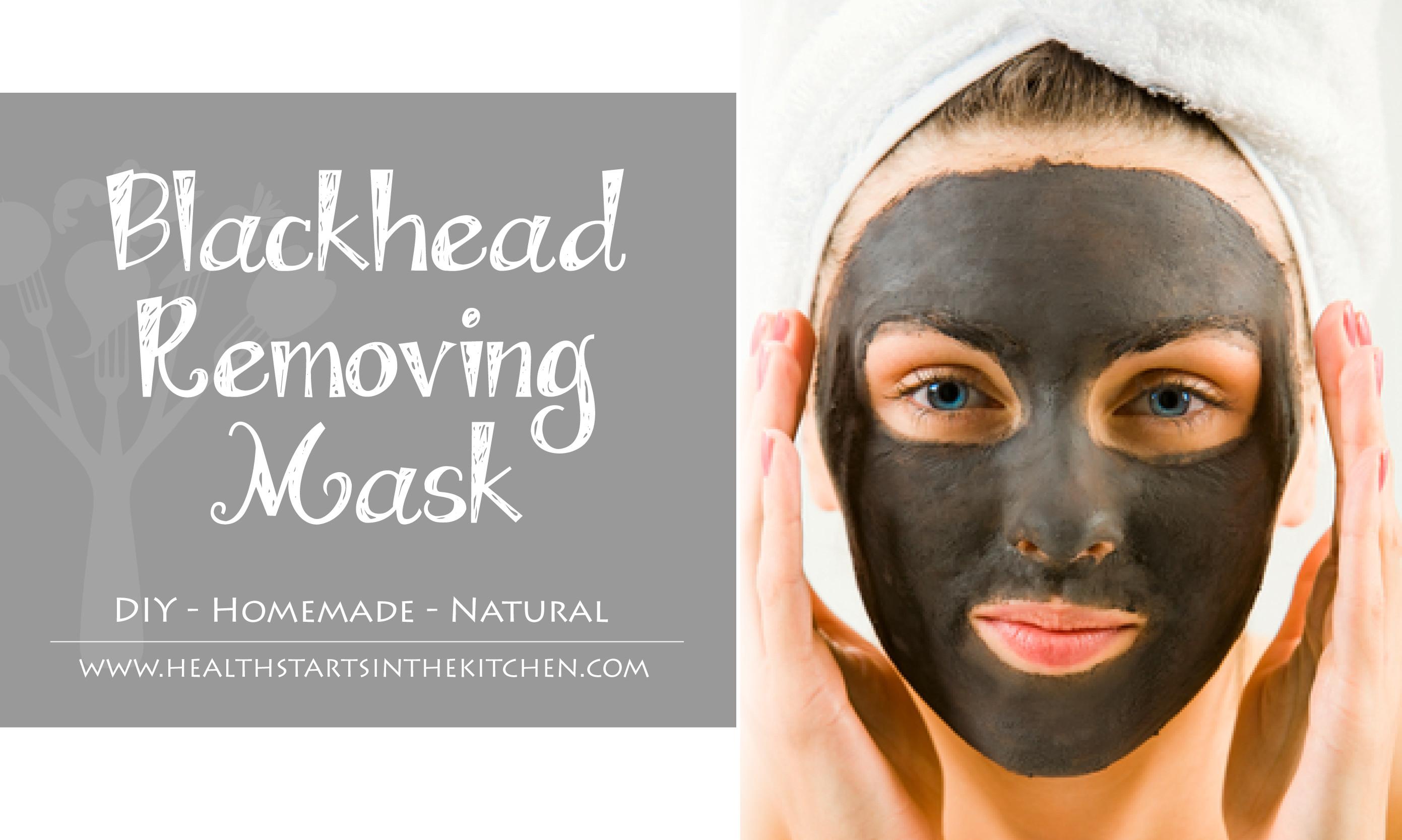 Diy Blackhead Maske  DIY Homemade Blackhead Removing Mask Health Starts in