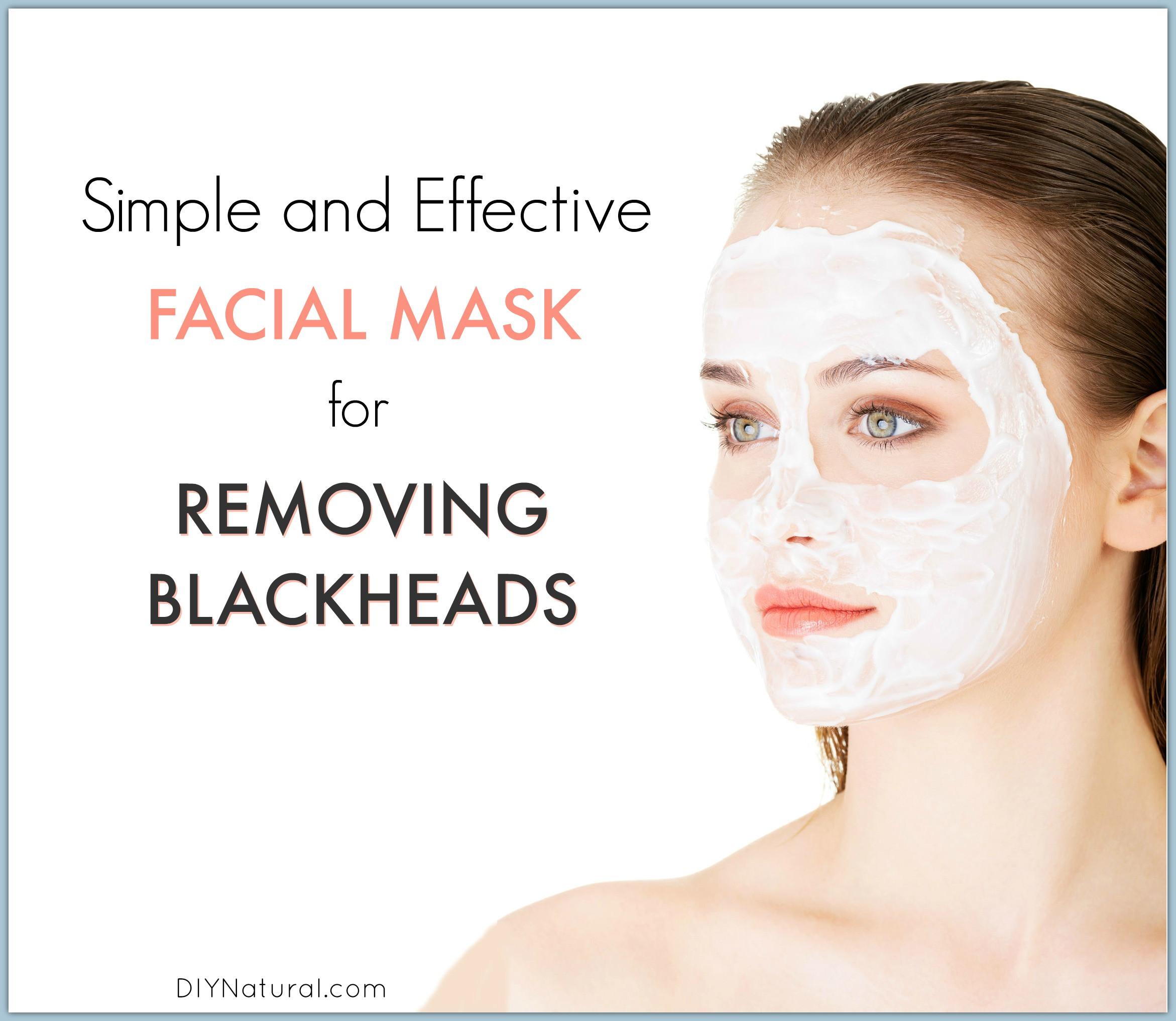 Diy Blackhead Maske  Blackheads A Quick and Easy Homemade Blackhead Mask