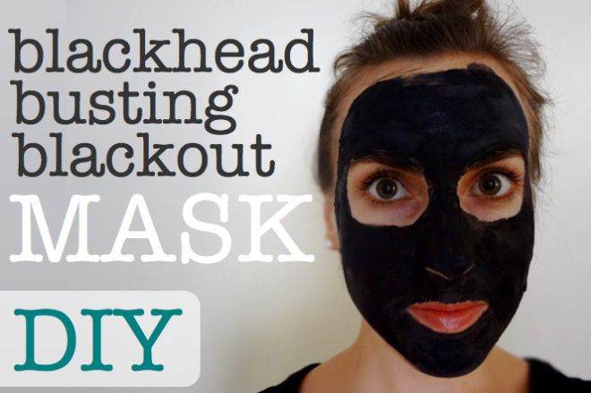 Diy Blackhead Maske  DIY All Natural Blackhead Busting Blackout Mask