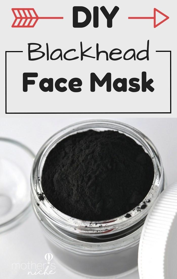 Diy Blackhead Maske  DIY Face mask recipe How to Get Rid of Blackheads