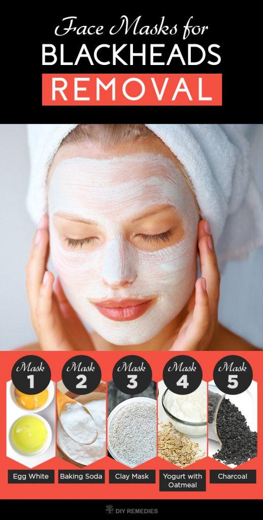 Diy Blackhead Maske  5 Best Face Masks for Blackheads Removal