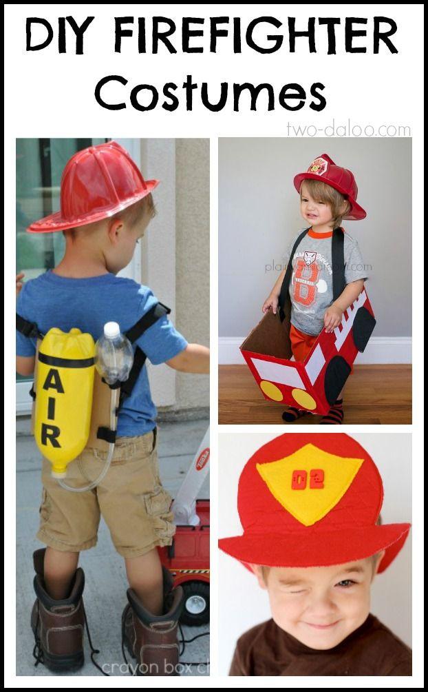 Diy Community  DIY Firefighter Costumes for Kids
