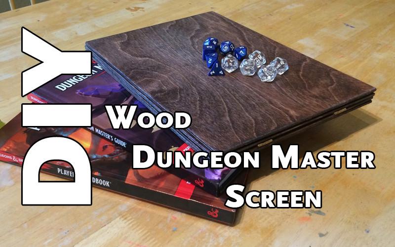 Diy Dm Screen  DIY Wood Dungeon Master Screen Webb Pickersgill