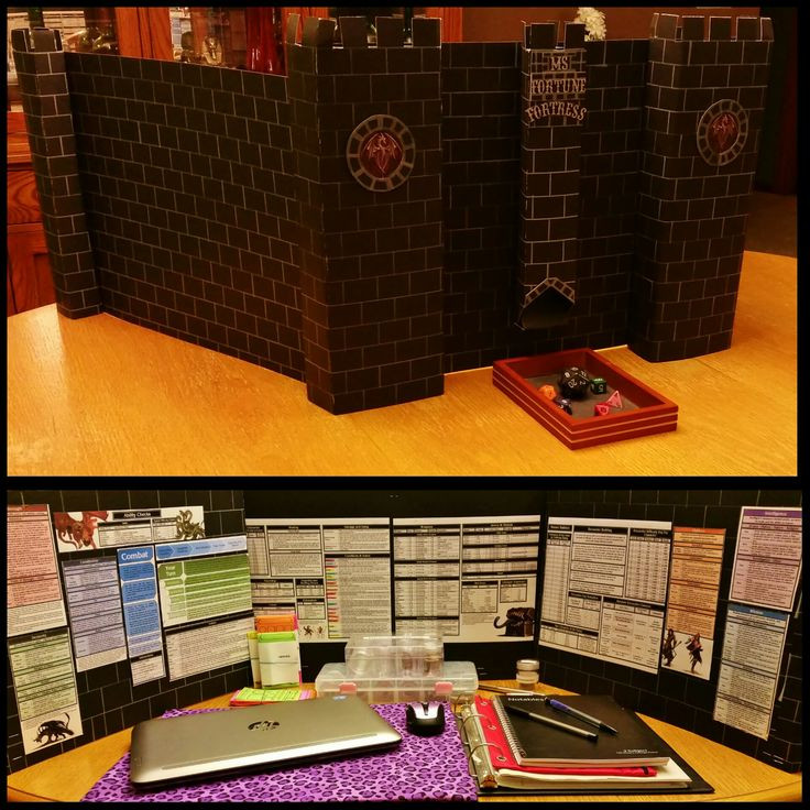 Diy Dm Screen  27 best images about Dungeon Master Screens on Pinterest