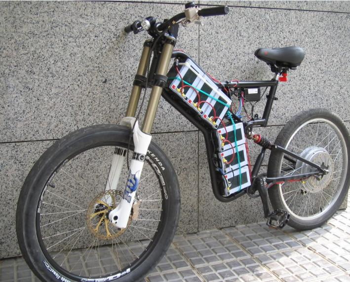 Diy Ebike  The Greyborg is a high powered DIY ebike frame from