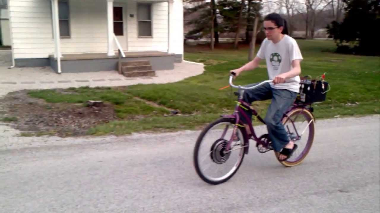 Diy Ebike  DIY E bike new motor 48v 1000w