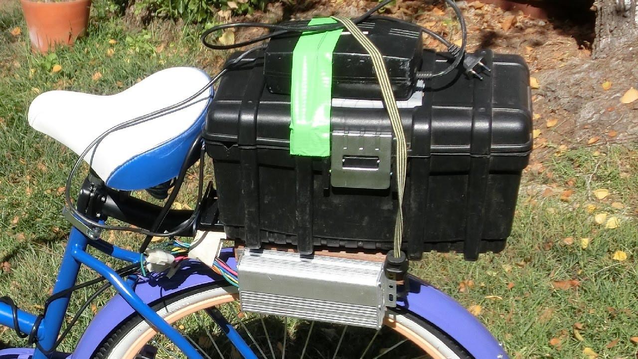 Diy Ebike  DIY 12$ E Bike battery box