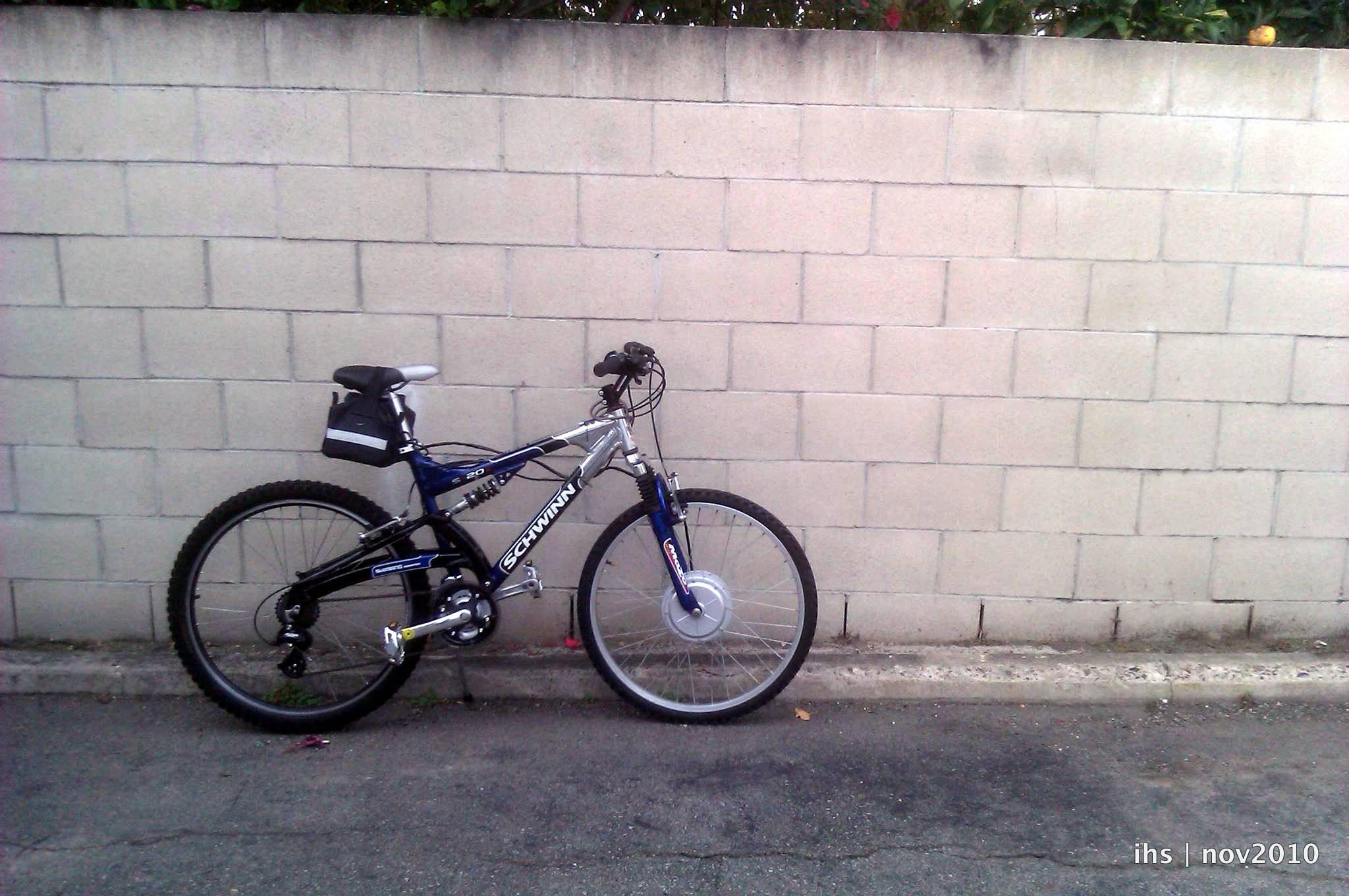 Diy Ebike  DIY E bike My Schwinn S 20