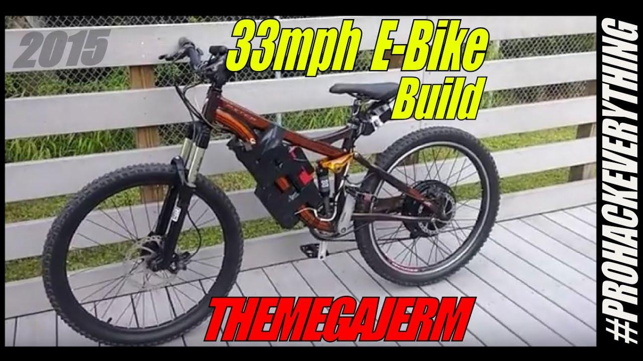 Diy Ebike  FAST DIY E Bike 48v Battery 1000w Hub Motor