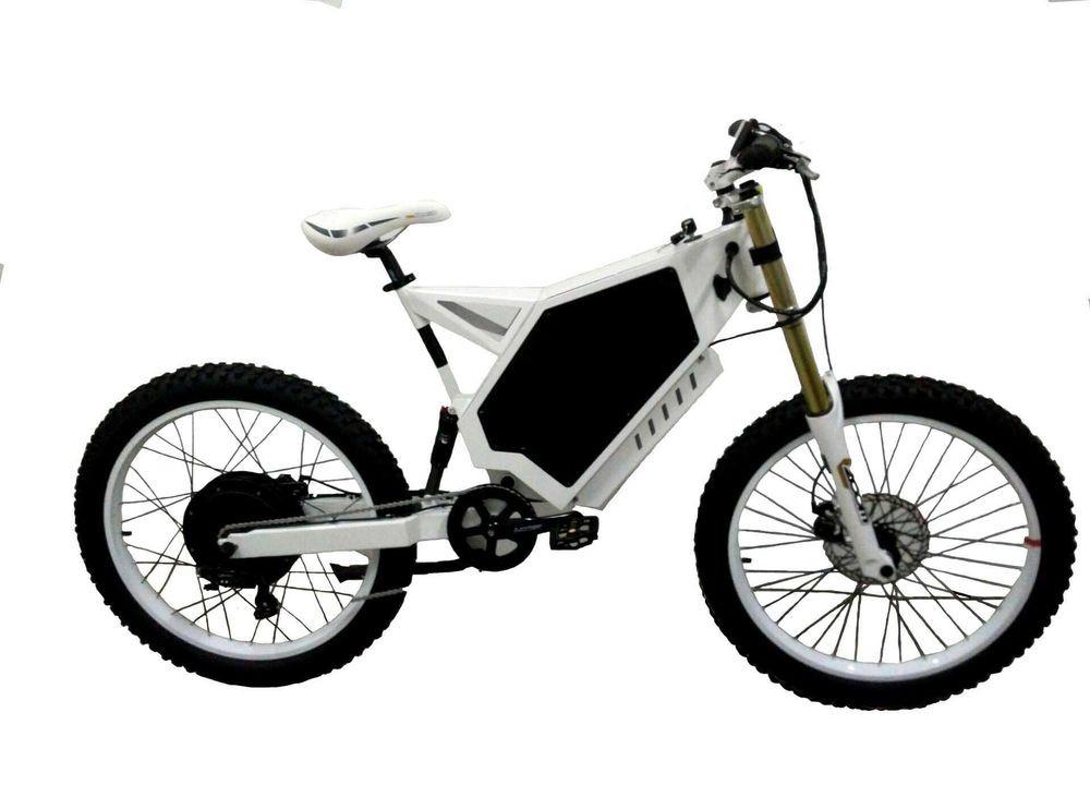 Diy Ebike  3000W Power Stealth Bomber Electric Bike Ebike DIY