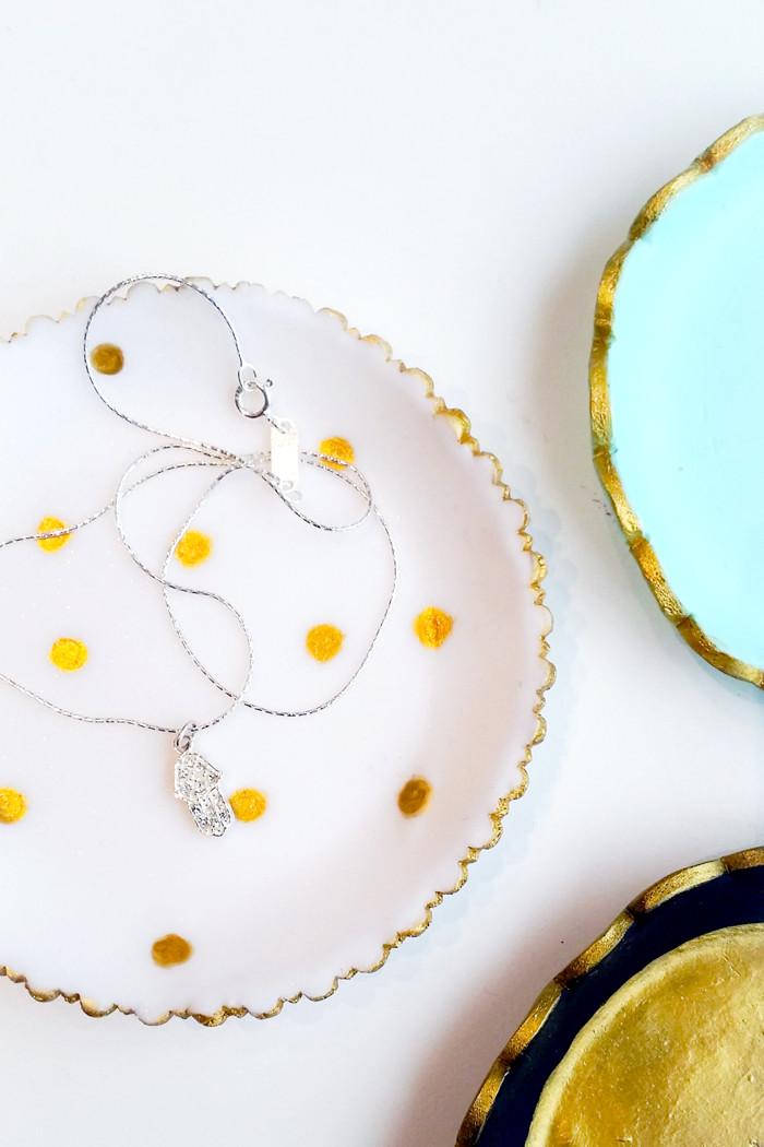 Diy Fimo  DIY Jewelry Trays FIMO – My Little Secrets