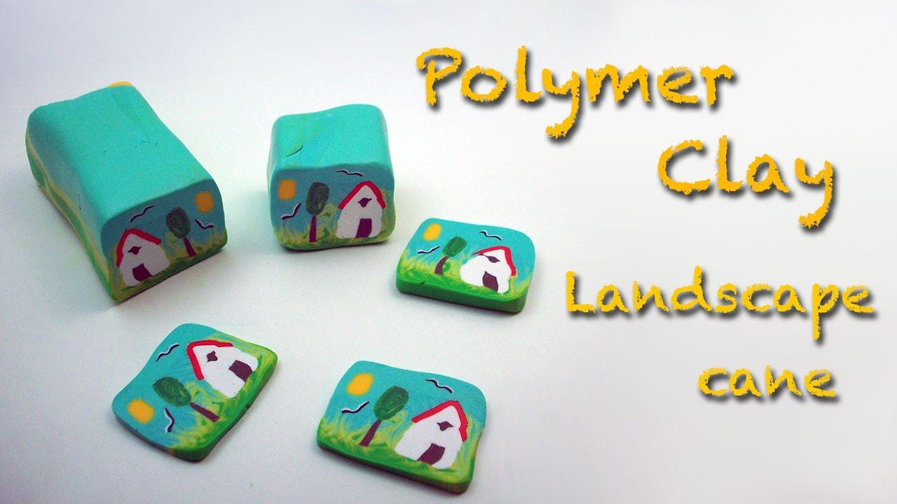 Diy Fimo  Diy Polymer clay Fimo tutorial How to make a country
