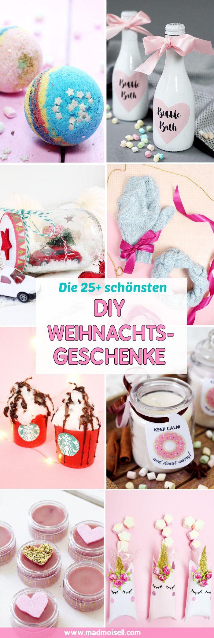 Diy Geschenke Weihnachten  3370 besten DIY Basteln & Selbermachen Bilder auf