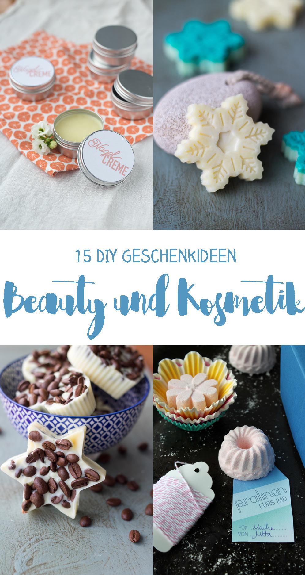 Diy Geschenke Weihnachten  15 DIY Kosmetik Geschenkideen zum Selbermachen