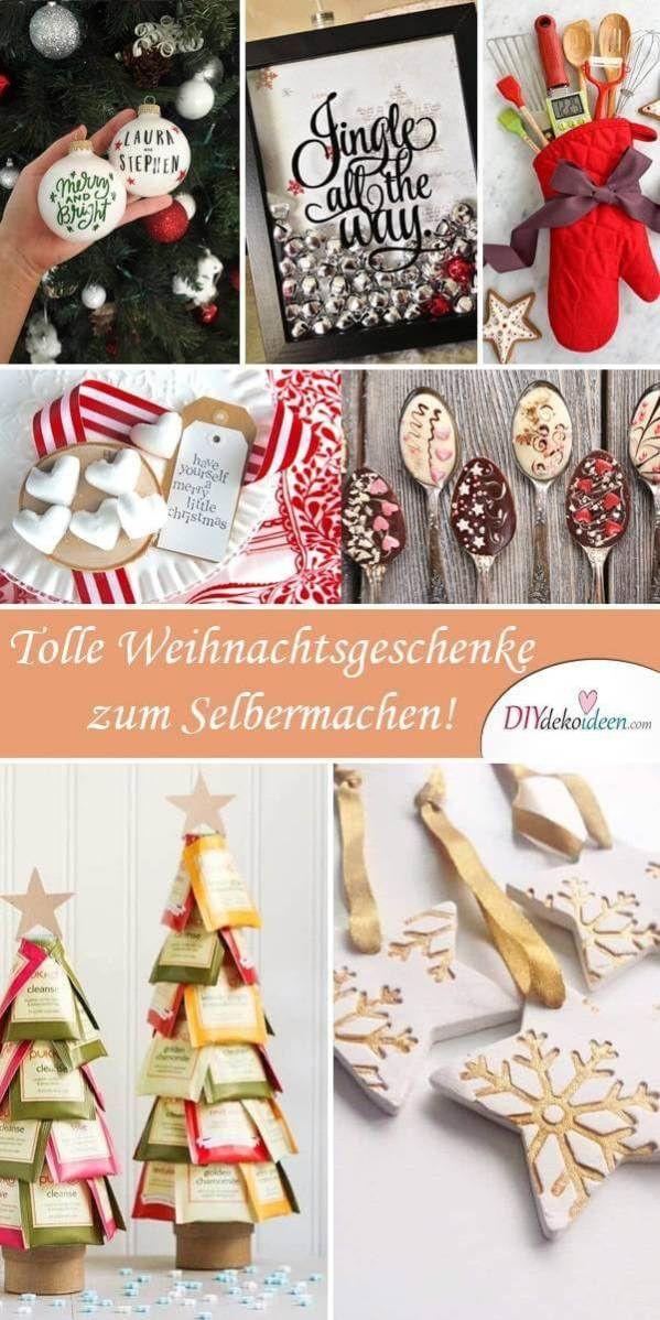 Diy Geschenke Weihnachten  DIY Geschenke zu Weihnachten selber machen