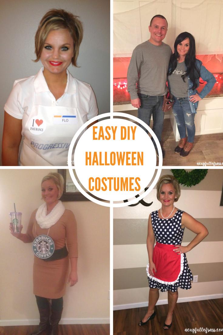 Diy Halloween Kostüm  DIY Halloween Costume Ideas A Cup Full of Sass