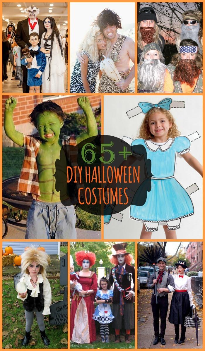 Diy Halloween Kostüm  DIY Halloween Costumes