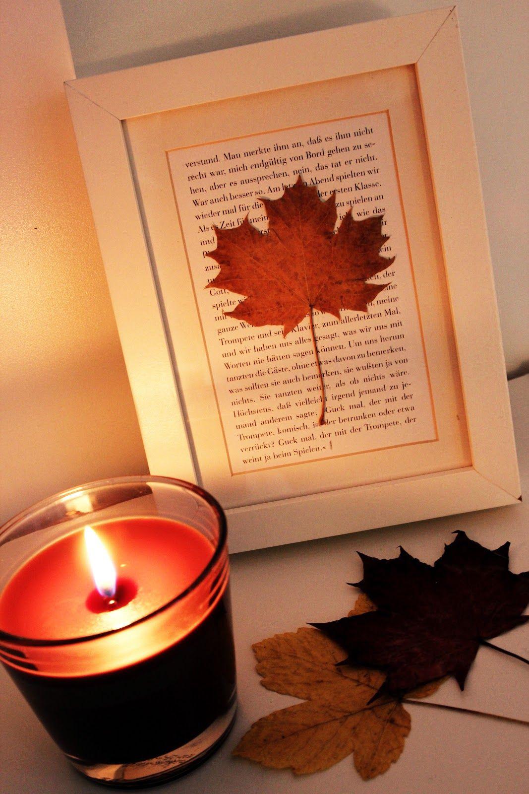 Diy Herbst  Herbst Deko DIY