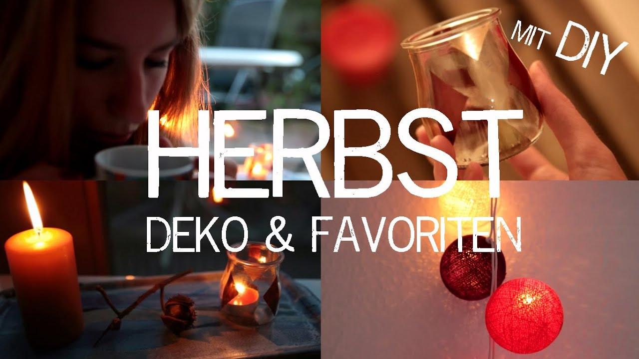 Diy Herbst  HERBST DEKO & FAVORITEN mit DIY Ideen kekulo