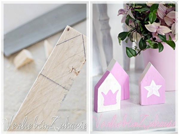Diy Holz Deko  Deko Haus aus Holz DIY HANDMADE Kultur