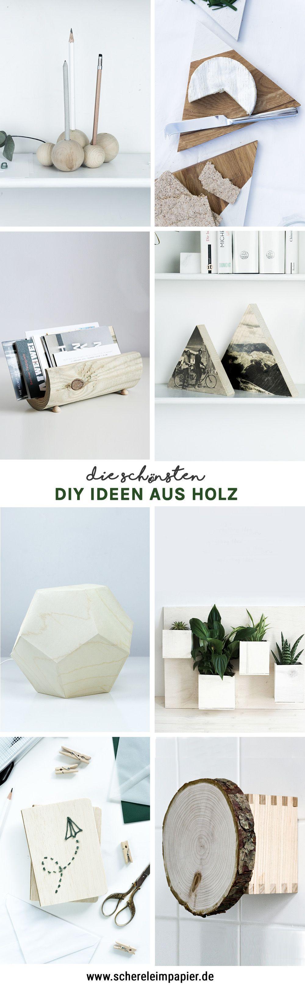 Diy Holz Deko  DIY Holz DIY Holz