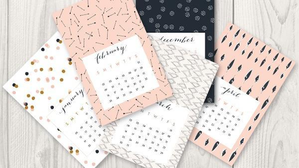 Diy Kalender Gestalten  Kalender selbst gestalten So versüßen Sie jeden Monat