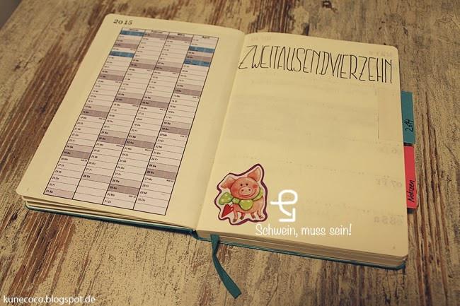 Diy Kalender Gestalten  DIY Kalender selbst gestalten KuneCoco