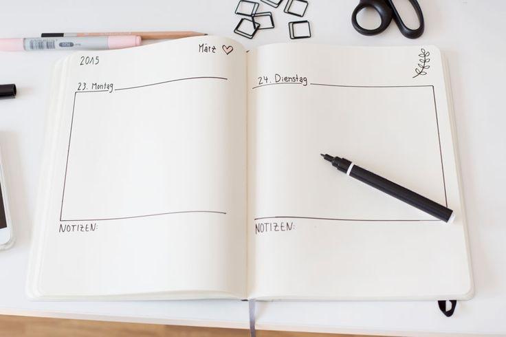 Diy Kalender Gestalten  Die 25 besten Kalender selbst gestalten Ideen auf