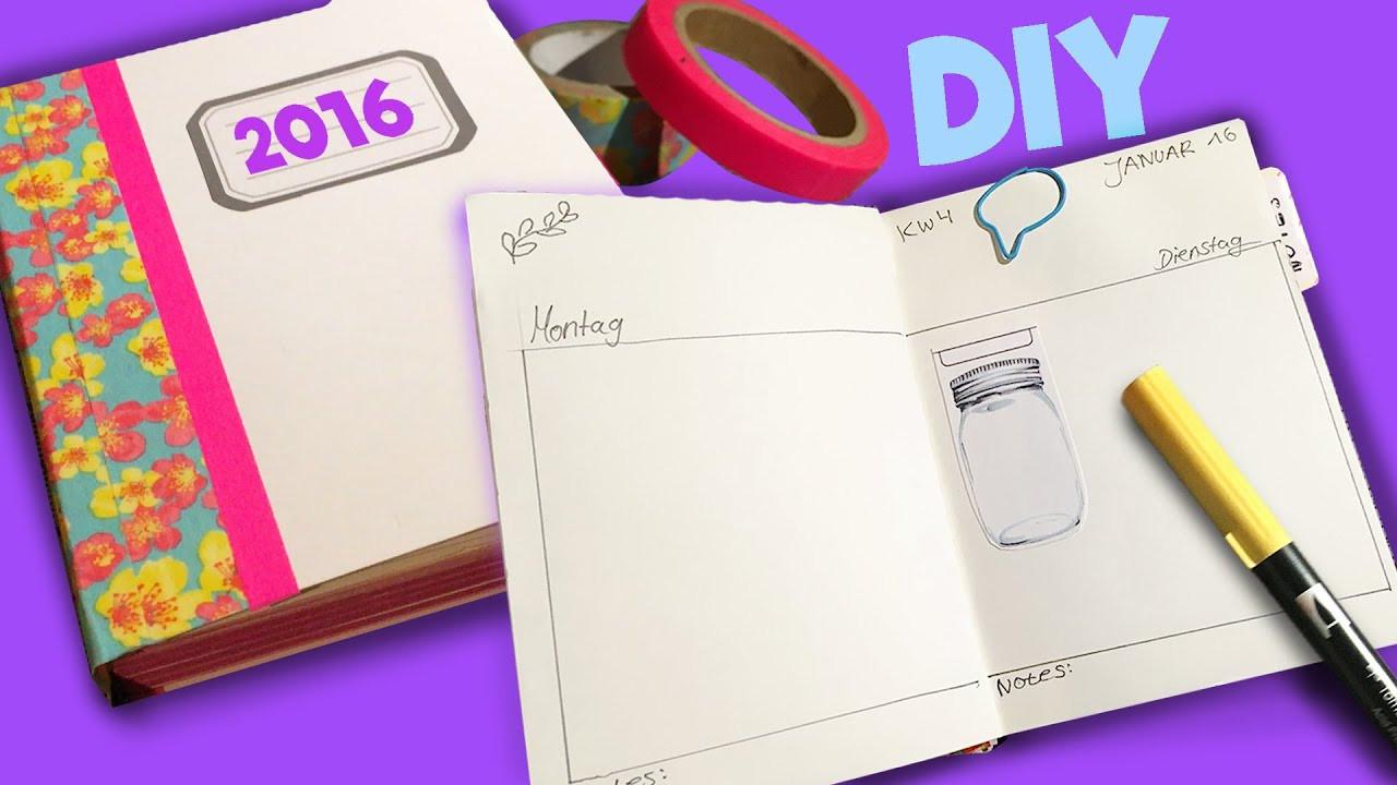 Diy Kalender Gestalten  DIY Kalender 2016