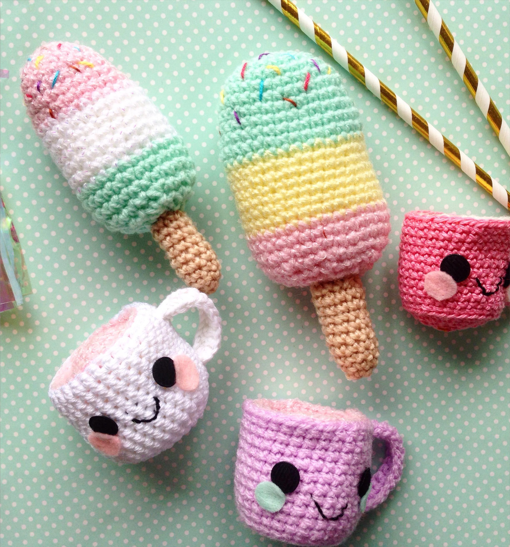 Diy Kawaii  DIY crochet Kawaii Cup Mug FREE pattern – The Crafty Mummy