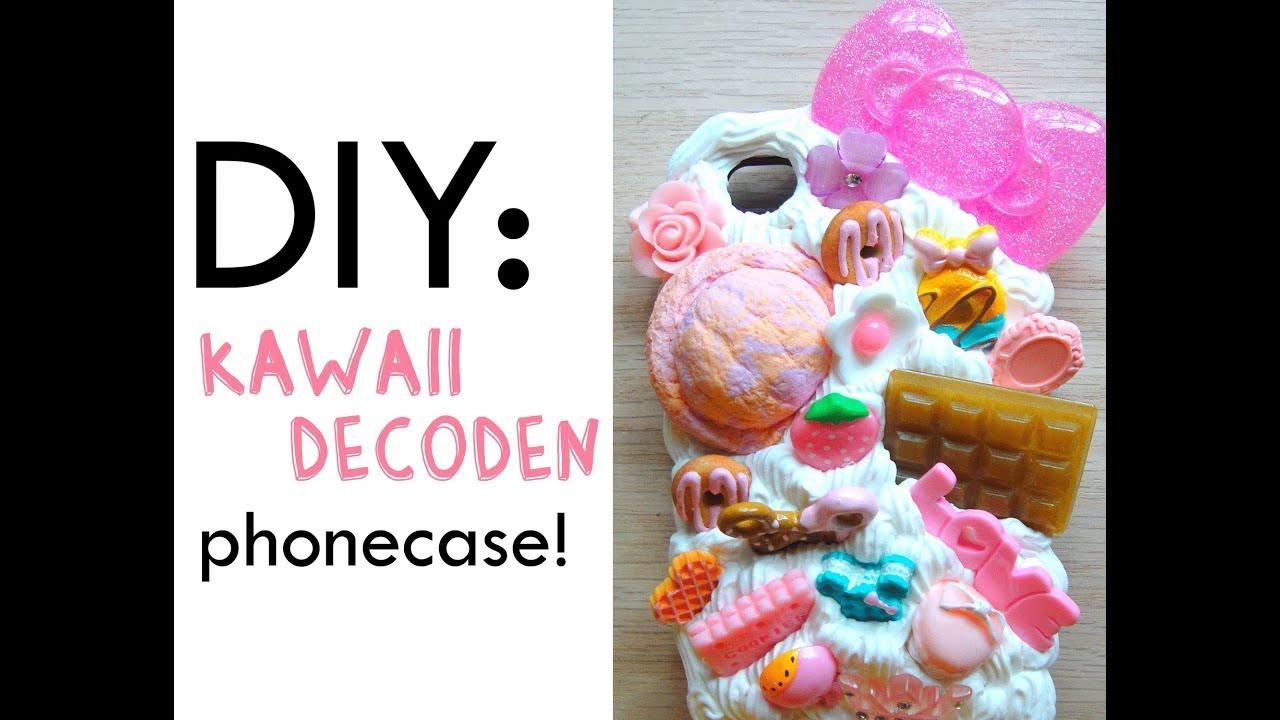 Diy Kawaii  DIY Kawaii Decoden Phonecase