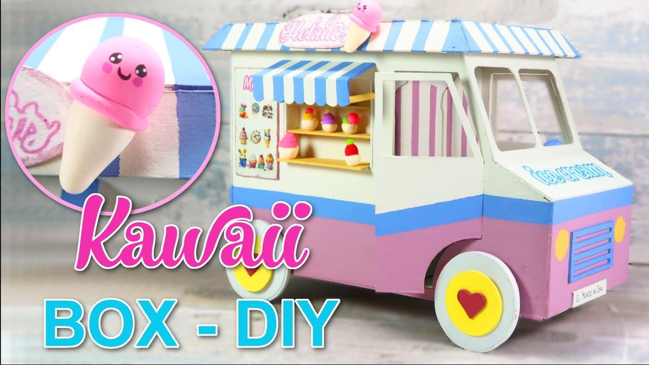 Diy Kawaii  KAWAII DIY CRAFTS CHILDREN ROOM DECOR ORGANIZER BOX