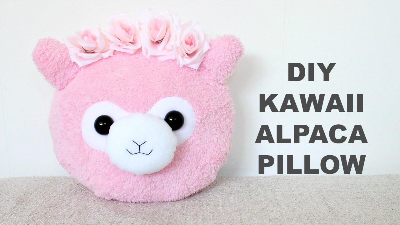 Diy Kawaii  DIY Kawaii Alpaca Pillow Alpaca Plushie