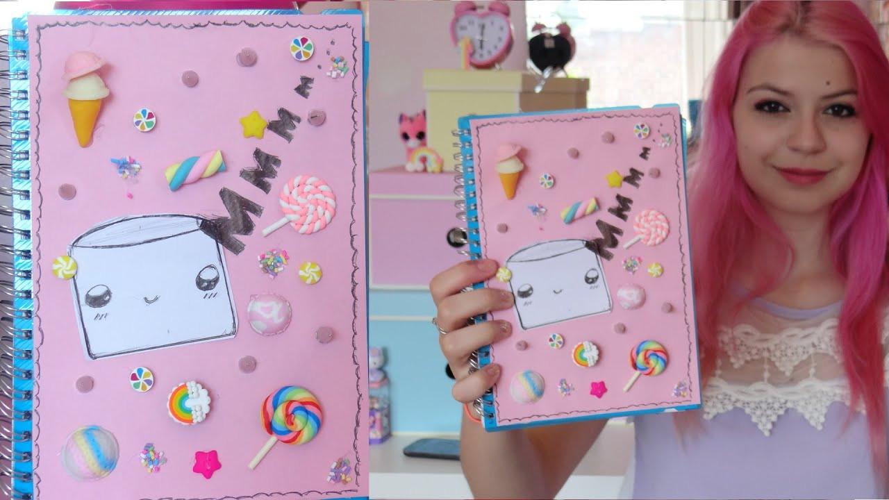 Diy Kawaii  DIY Kawaii School Supplies Notebook