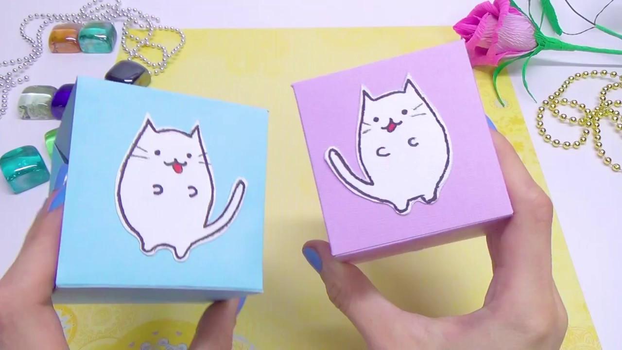 Diy Kawaii  DIY paper crafts idea DIY kawaii cat easy paper toys