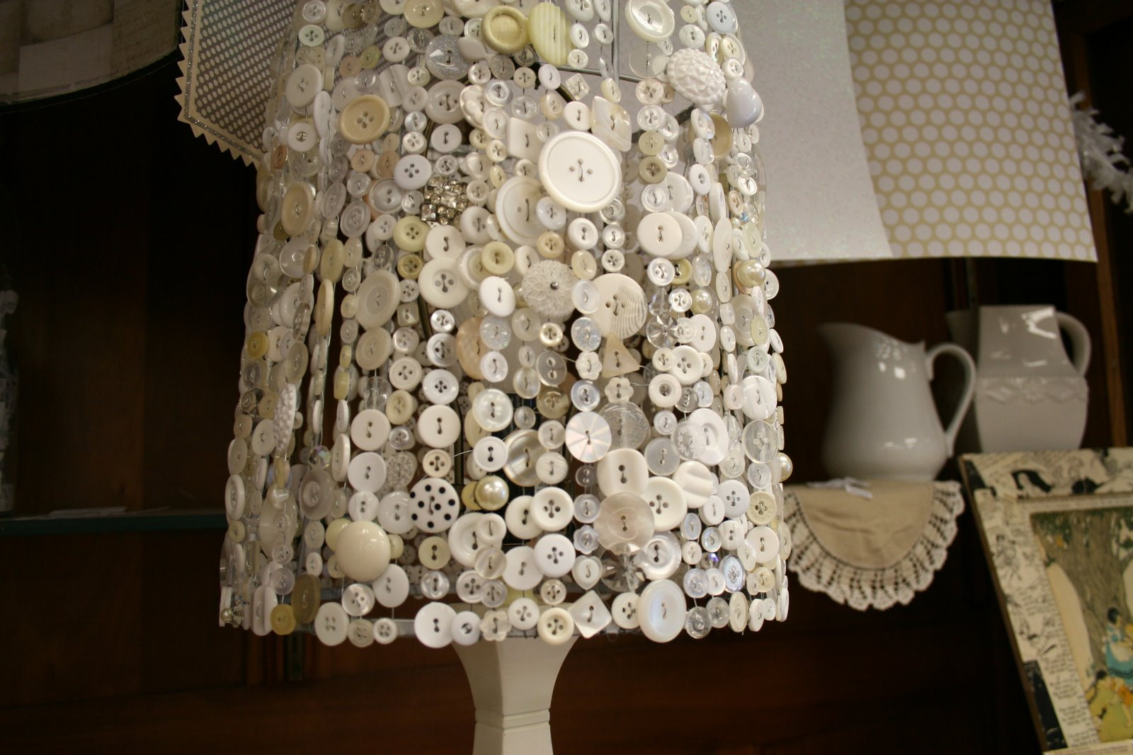 Diy Lampshade  i like this DIY Lampshades
