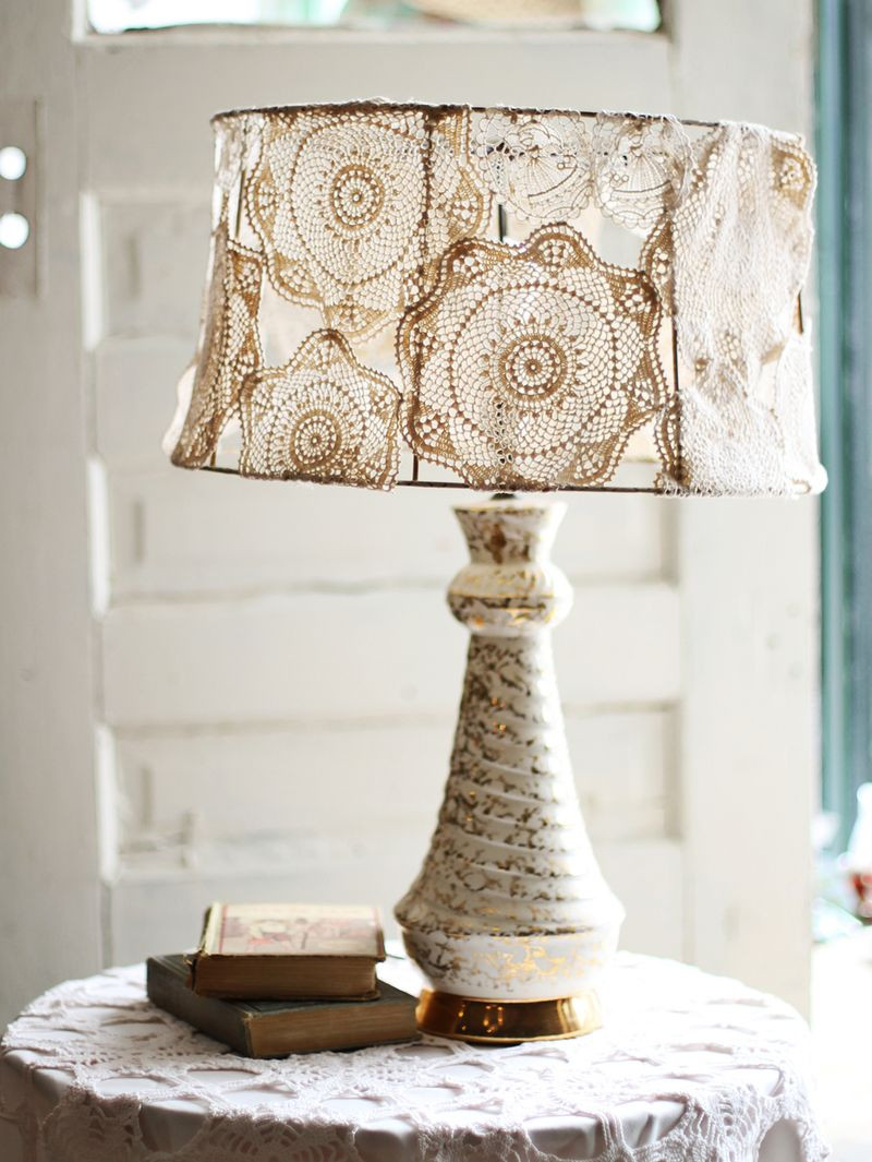 Diy Lampshade  23 Ways To DIY and Redo A Lampshade