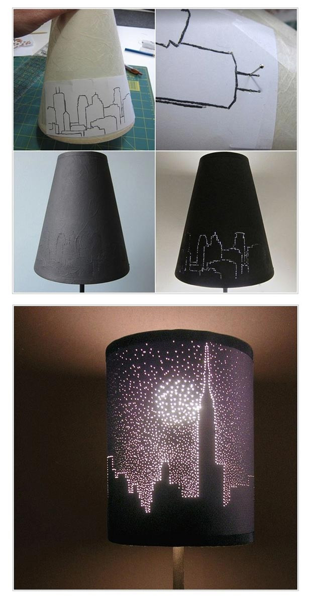 Diy Lampshade  22 Easy Teen Room Decor Ideas for Girls DIY Ready